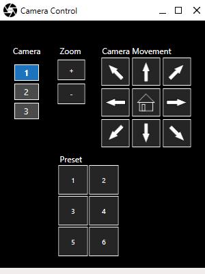 Everet PTZ camera control app